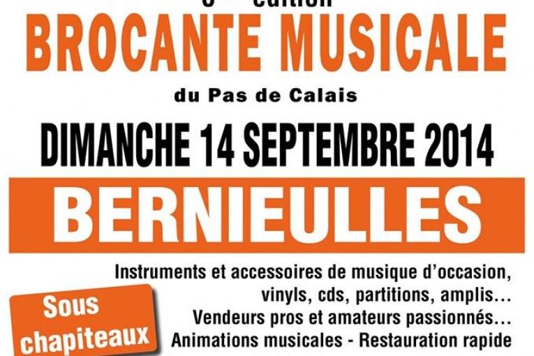 6em Brocante musicale dans le Pas de Calais