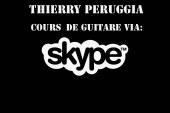 Des cours de Guitare via Skype!