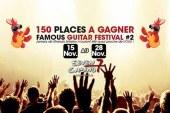 The Famous Guitar festival 2nd édition