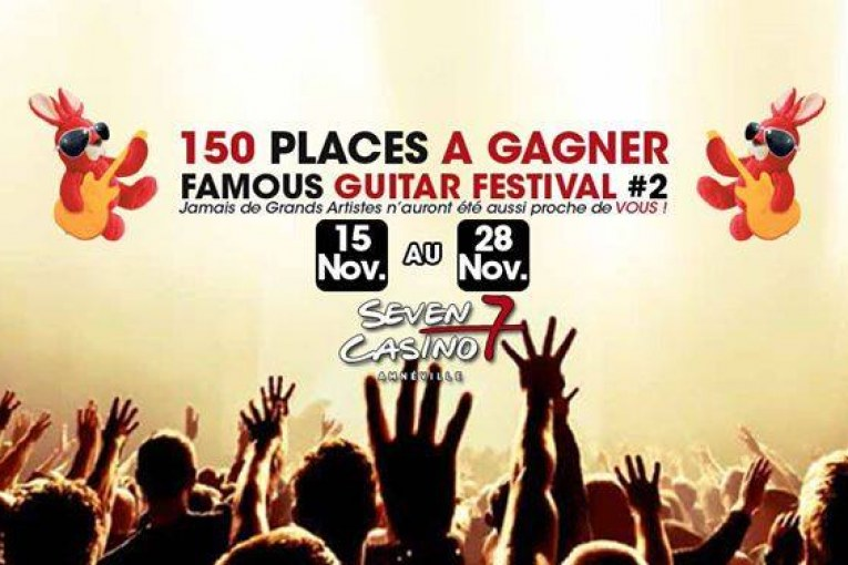 The Famous Guitar festival 2nd édition