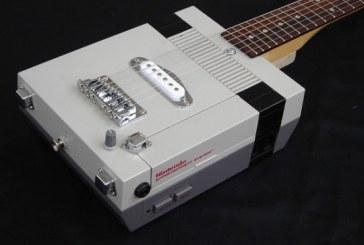 La guitare console!