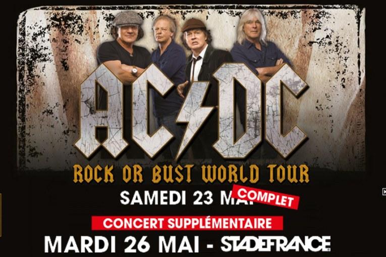 Date supplémentaire pour le concert d'AC/DC