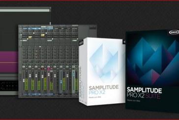 Mise à jour Samplitude Pro X2