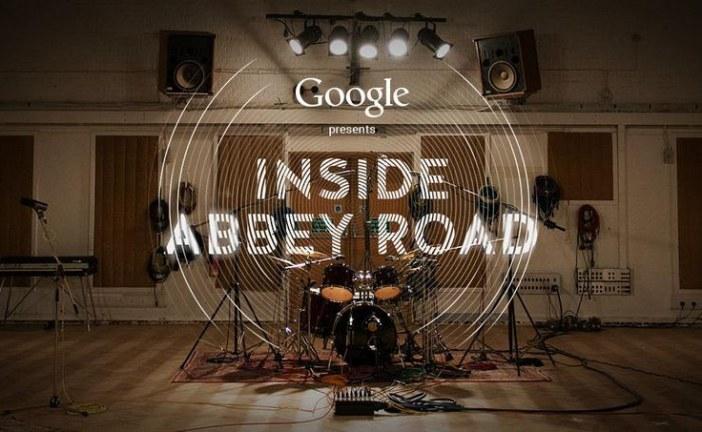 Visite des studios Abbey Road avec Google